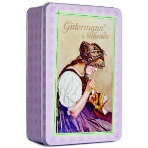 GÜTERMANN Nostalgiedose - rosa, mittelgroß