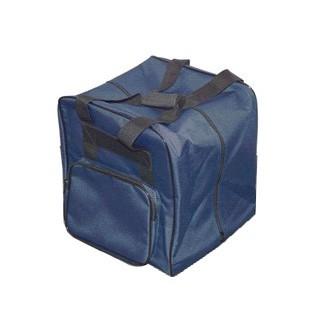 Overlocktasche blau