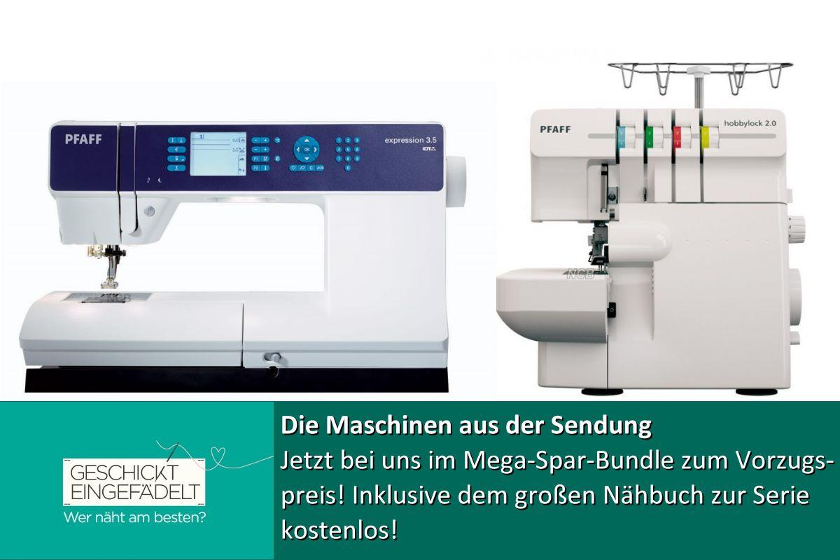 Nähmaschine Geschickt eingefädelt - Das Mega Bundle zur Show ...
