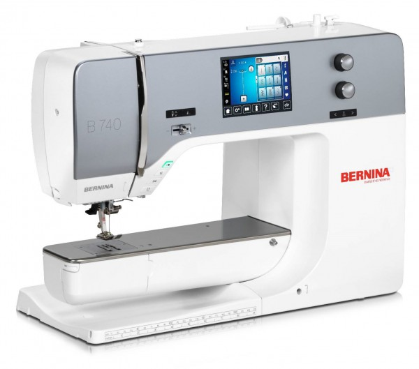 BERNINA 740 mit Trolley