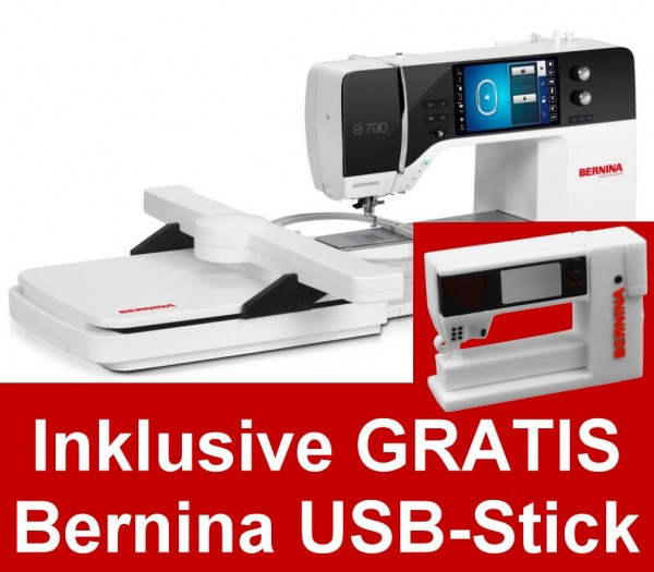 BERNINA 790 mit Stickmodul - Sonderfinanzierung