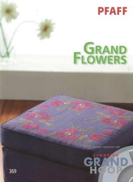 PFAFF creative card Grand Flowers