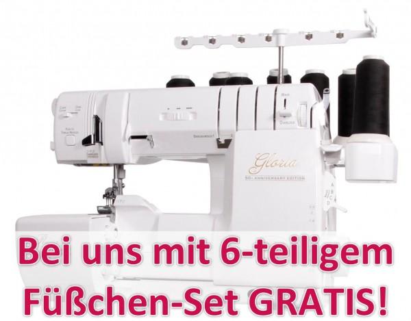 BABY LOCK Gloria Anniversary Edition inkl. Coverlock-Füßchenset
