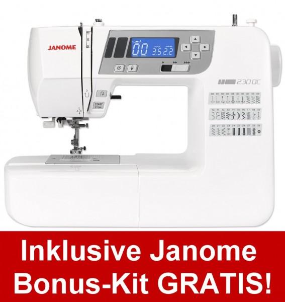 JANOME DC 230 inkl. Bonus-Kit